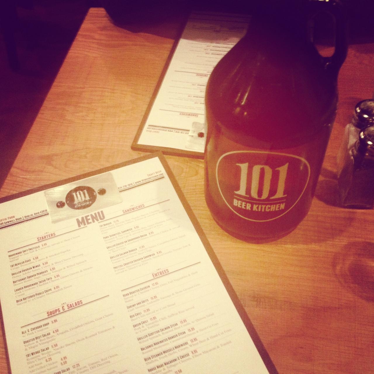 First Look: 101 Beer Kitchen | Drink Up Columbus | Columbus blog ...