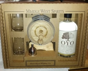 micro barrel whiskey kit middle west spirits