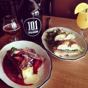 101 beer kitchen drunk brunch