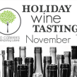 holiday wine tasting