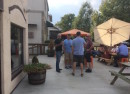 the Ohio Taproom patio