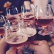 Beer stock photo cheers