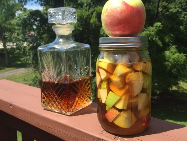 Salty Carmel and Apple Infused Whiskey