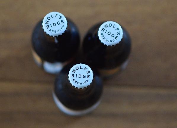 Wolfs Ridge Brewing Bottle caps