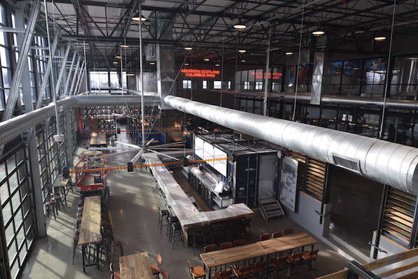 Brewdog taproom overview