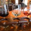 Powell Village Winery flight