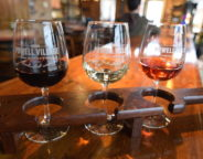 Powell Village Winery flight
