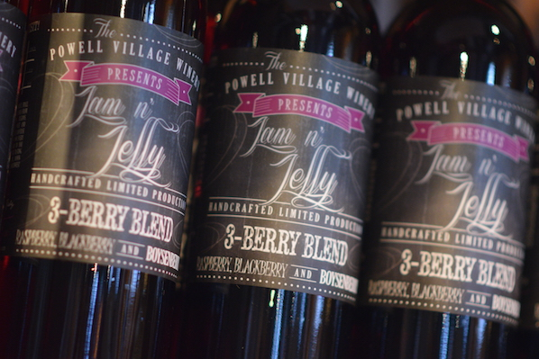 Powell village winery 3-berry blend