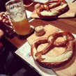 Wurst und Bier Pretzel