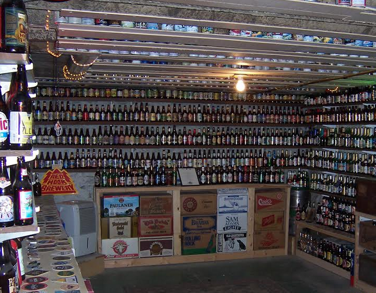 way more than 99 bottles of beer on the wall drink up columbus