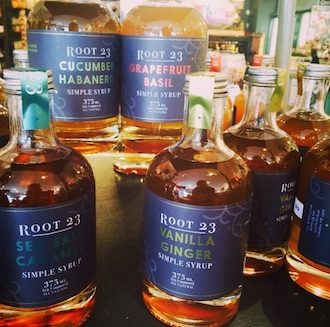 root 23 simple syrup
