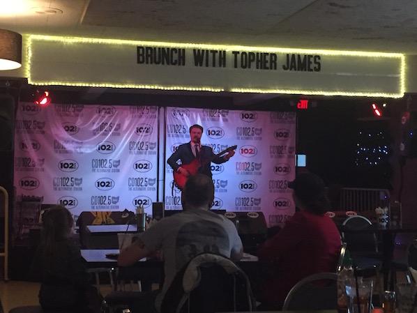 Topher James Brunch