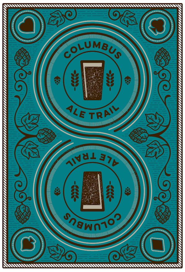 Columbus Ale Trail playing cards