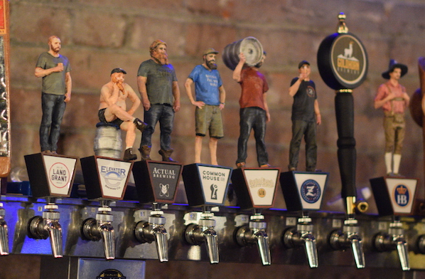 columbus brewer tap handles