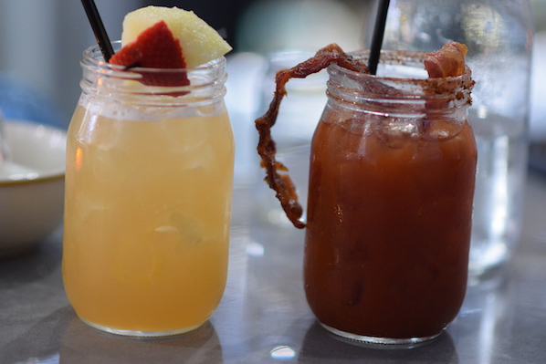 Biscuit and Branch brunch cocktails bloody mary